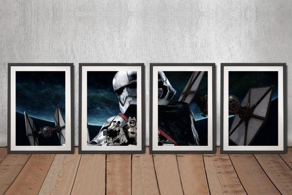 Captain Phasma 4-Panel Art Cheap Online