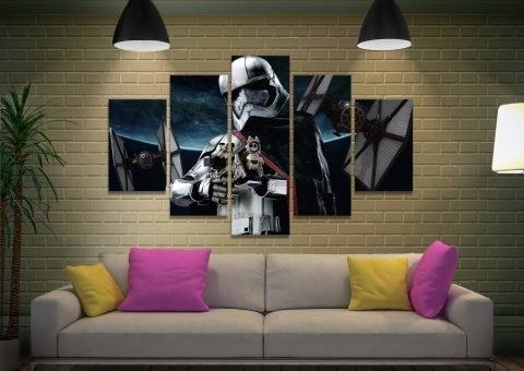 Captain Phasma Wall Art Great Gift Ideas for Guys