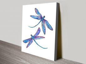 Dragonfly Delight Linda Callaghan Abstract Art