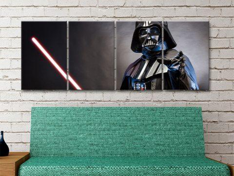 Buy Darth Vader Split Panel Prints Cheap