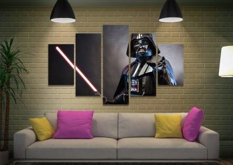 Feel the Force Split-Diamond Canvas Prints