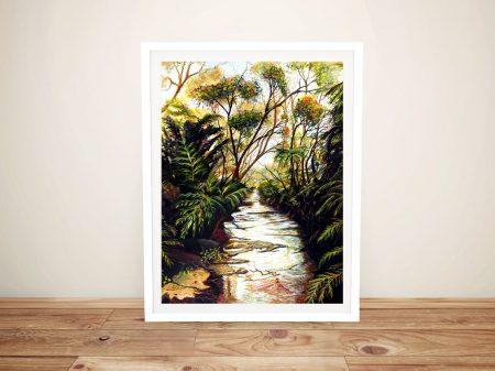 Katoomba Creek Framed Landscape Wall Art