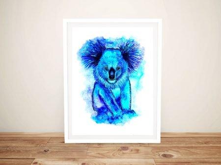 Koala Cuteness Linda Callaghan Wall Art