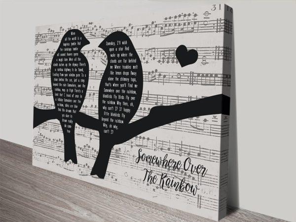 Songbirds Unique Custom Art for Sale AU