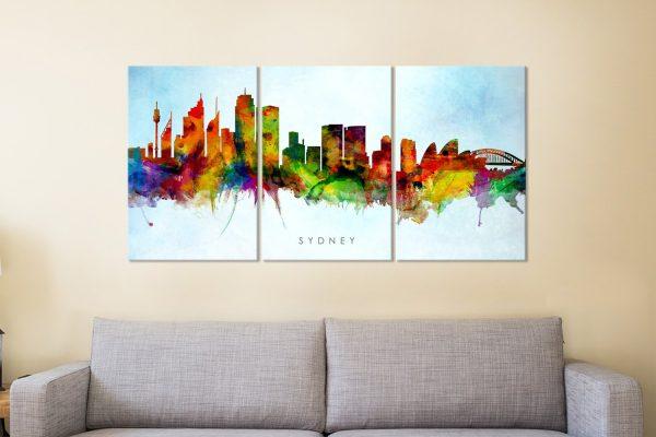 Michael Tompsett Skyline Art for Sale AU