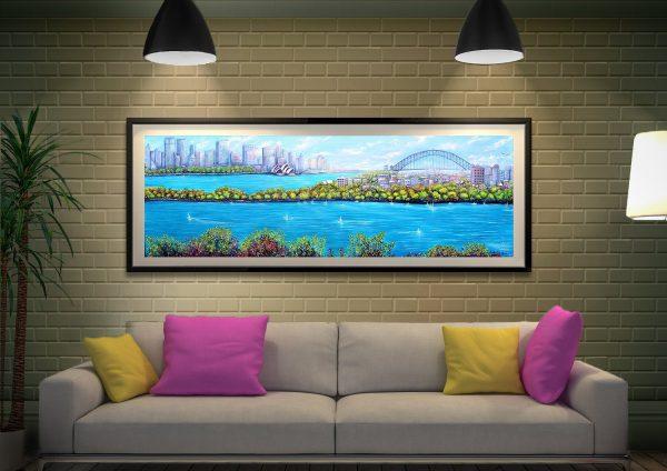 Framed Panoramic Prints Home Decor Ideas AU