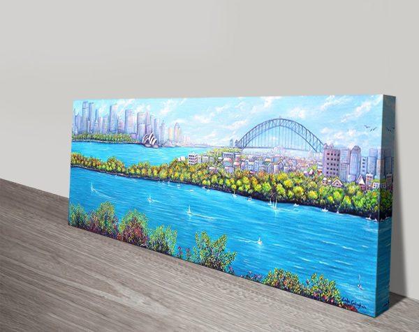 Sydney Harbour Linda Callaghan Wall Art