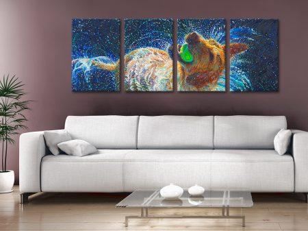 Buy The Juggler Iris Scott Split-Panel Art