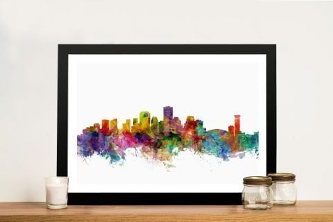 Michael Tompsett Skylines Art Gift Ideas AU