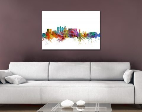 Cape Town Skyline Print Online Gallery Sale