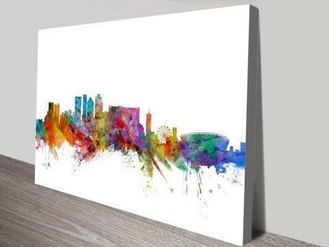 Affordable Michael Tompsett Skyline Art AU