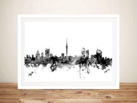 Singapore Skyline Framed Art for Sale AU