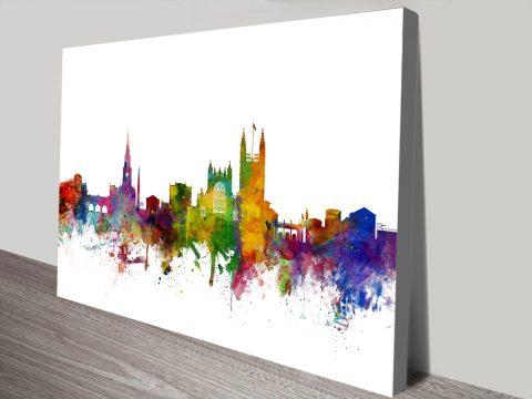 Canvas Michael Tompsett Skyline Art