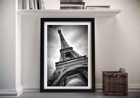 Eiffel Tower Dynamic Framed Print