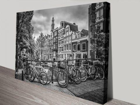 Amsterdam Flower Canal by Melanie Viola
