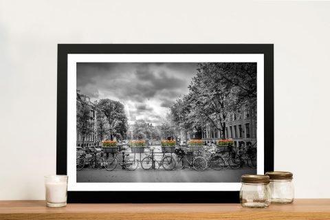 Amsterdam Gentlemen's Canal Framed Art