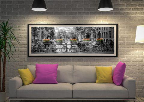 Gentlemen's Canal Panoramic Wall Art