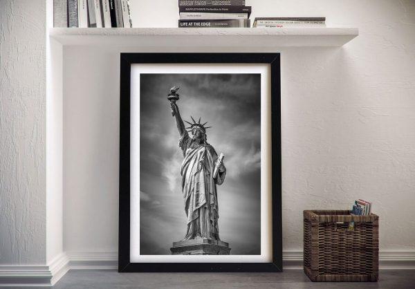 Framed Statue of Liberty Art Cheap Online