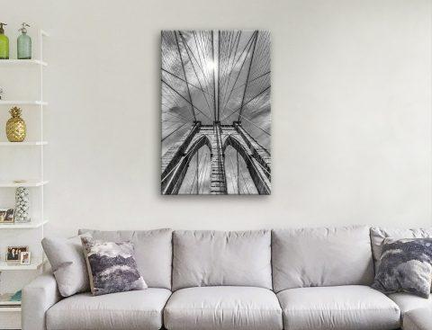 Brooklyn Bridge Print Unique Home Decor AU
