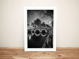 Idyllic Nightscape from Keizersgracht Wall Art