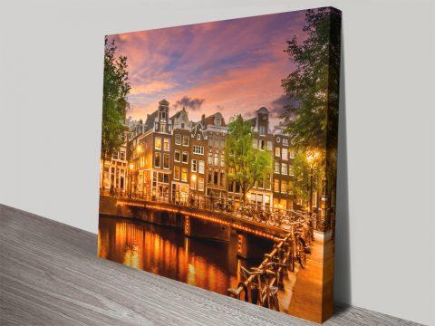 Melanie Viola Amsterdam on Canvas