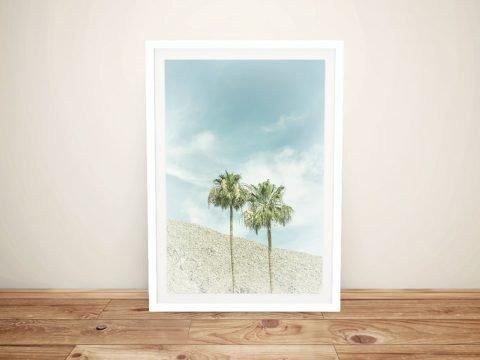 Framed Palm Trees Art Home Decor Ideas AU