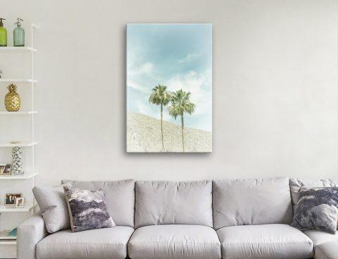 Palm Trees in the Desert by Melanie Viola