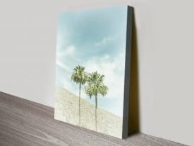 Buy Palm Trees in the Desert Wall Art