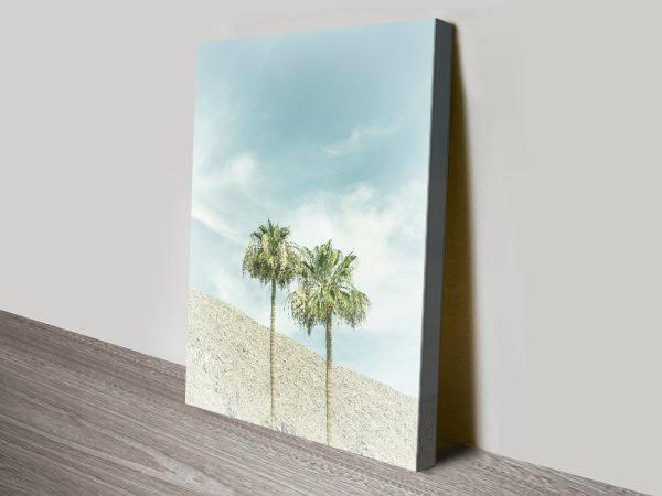 Buy Palm Trees in the Desert Wall Art