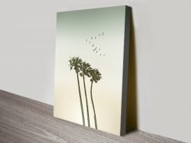 Palm Trees & Sunset Melanie Viola Art