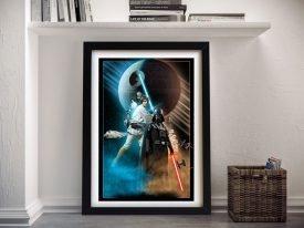 Buy A New Hope Star Wars Vintage Poster