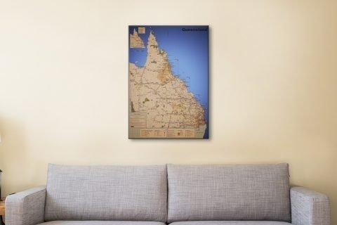 Affordable Map Art Unique Home Decor