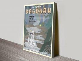Dagobah Travel Poster