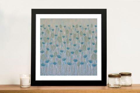 Framed Floral Art by Lisa Frances Judd AU