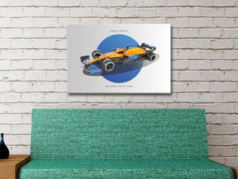 McLaren F1 Canvas Poster Unique Decor AU