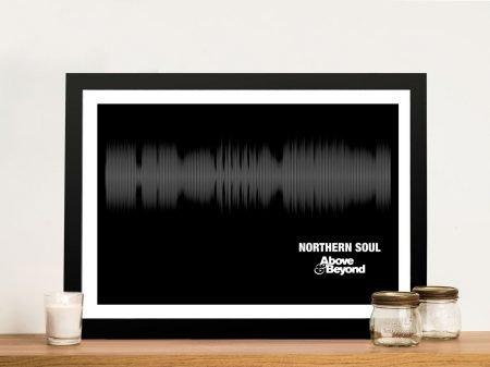 Northern Soul Soundwaves Artwork