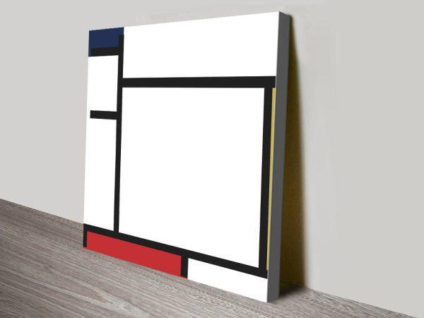 Piet Mondrian Abstract Composition Print