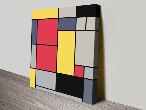 Piet Mondrian Abstract Prints Unique Gifts AU