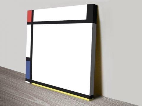 Tableau Xl Mondrian Abstract Art Print