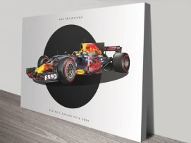 Red Bull F1 Ready to Hang Wall Art
