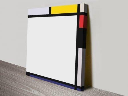 Tableau Vll Piet Mondrian Print