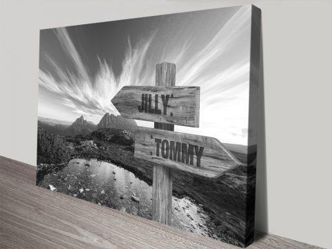 Cradle Mountain Wall Art Unique Gift Ideas AU