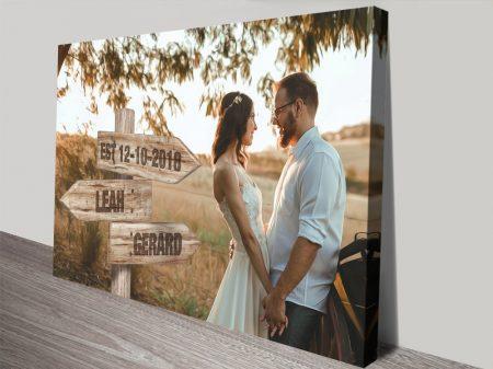Wedding Signpost Gift