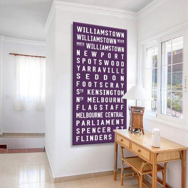 Williamstown Tram scroll