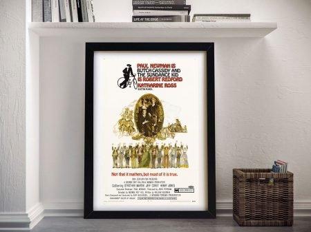 Butch Cassidy Vintage Movie Poster Artwork