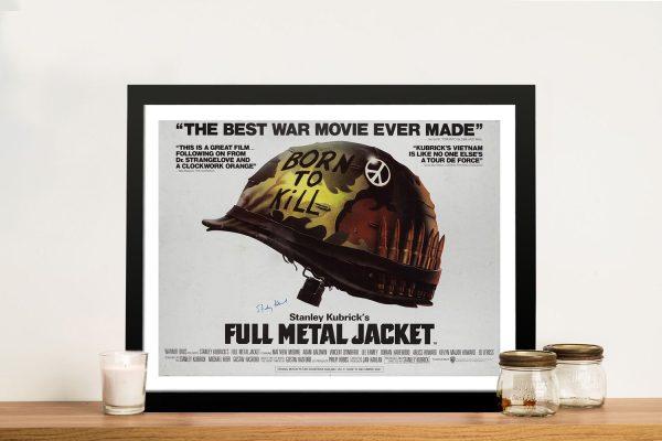 Full Metal Jacket Vintage Film Poster for Sale