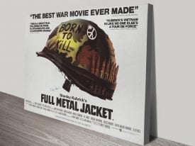 Full Metal Jacket Canvas Poster Print