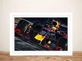 Framed Red Bull Formula 1 Poster Print