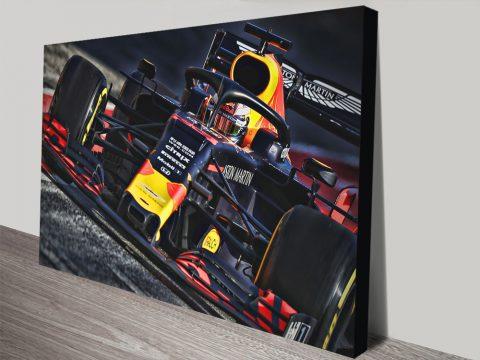 Max Verstappen Red Bull Wall Art AU