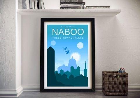 Naboo star wars posters Wall Art